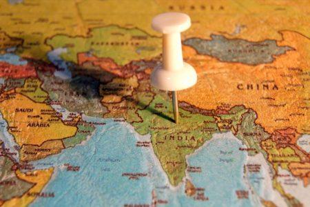 הודו על המפה